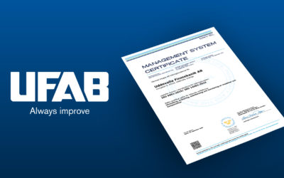 New environmental and quality certification for UFAB